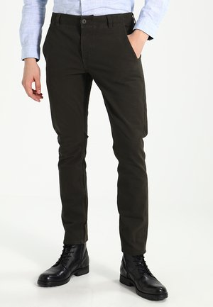SMART 360 FLEX ALPHA SKINNY - Chino - olive brown