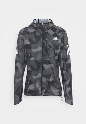 OWN THE RUN WIND RESPONSE RUNNING JACKET - Sports jacket - grey