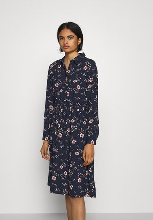 VMGALLIE DRESS - Sukienka koszulowa - navy blazer/gallie