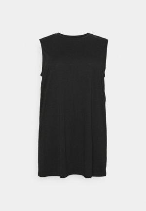 NMMAYDEN DRESS - Žerzejové šaty - black