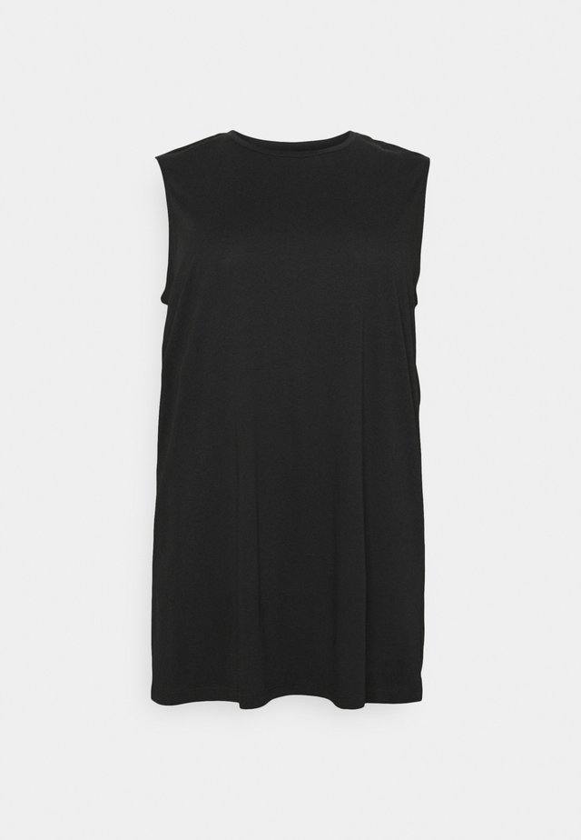 NMMAYDEN DRESS - Jerseyjurk - black
