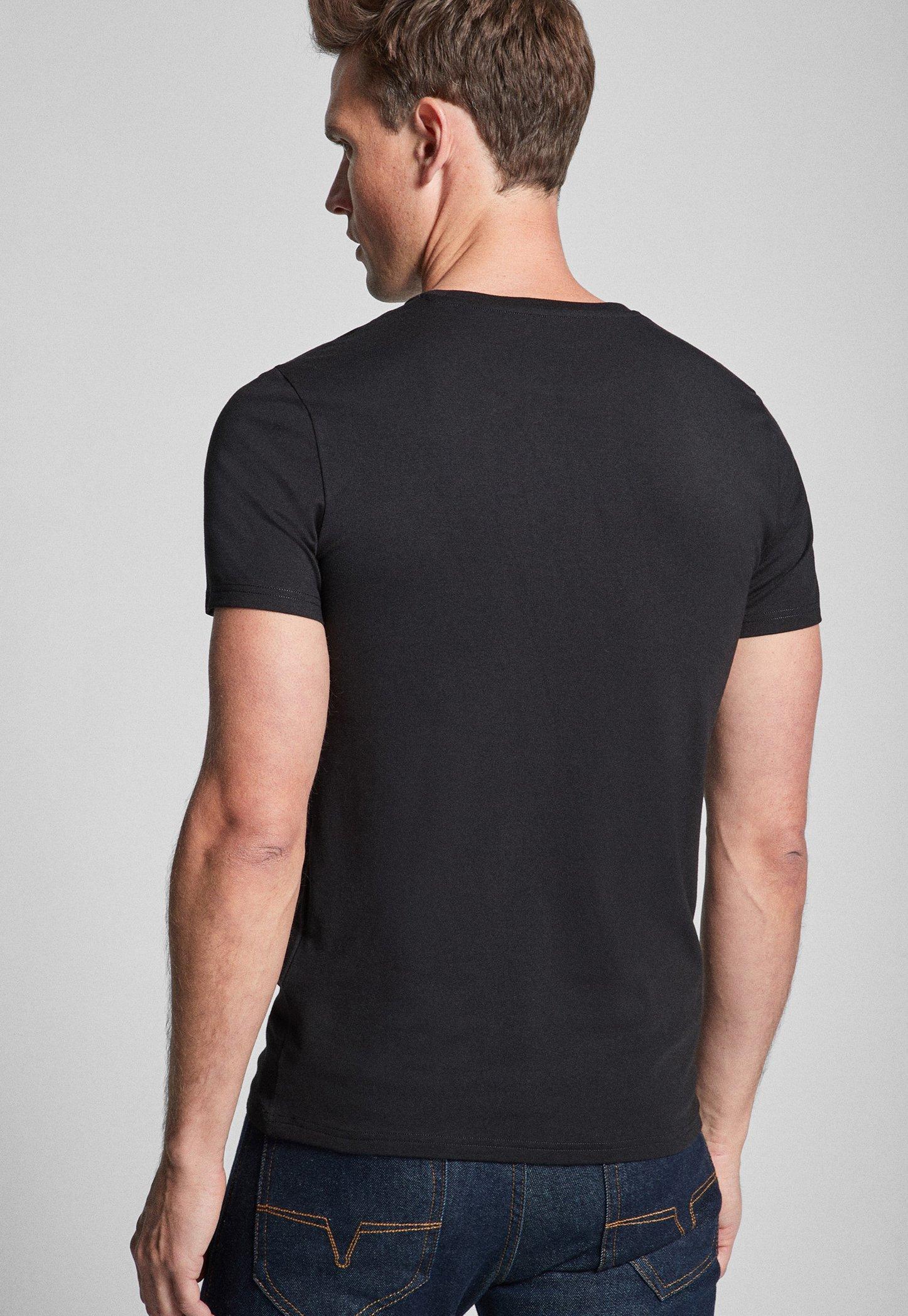 JOOP! 2 PACK  - Basic T-shirt - black JfHLC