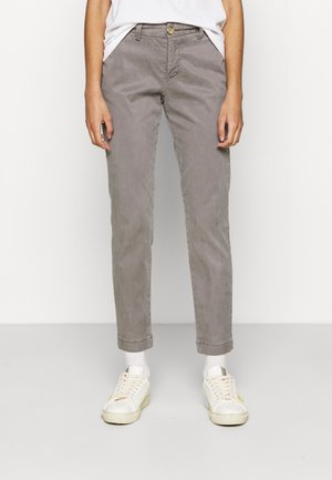 LOVELY POWERSTRETCH - Chinos - rock