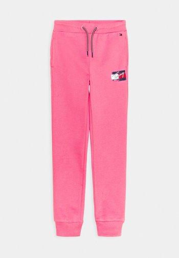 FLAG PRINT  - Pantalones deportivos - exotic pink