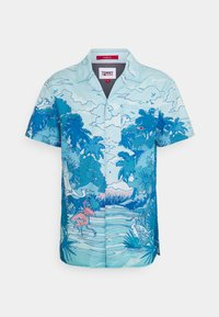 Tommy Jeans - CLASSIC CAMP  - Chemise - blue - 0