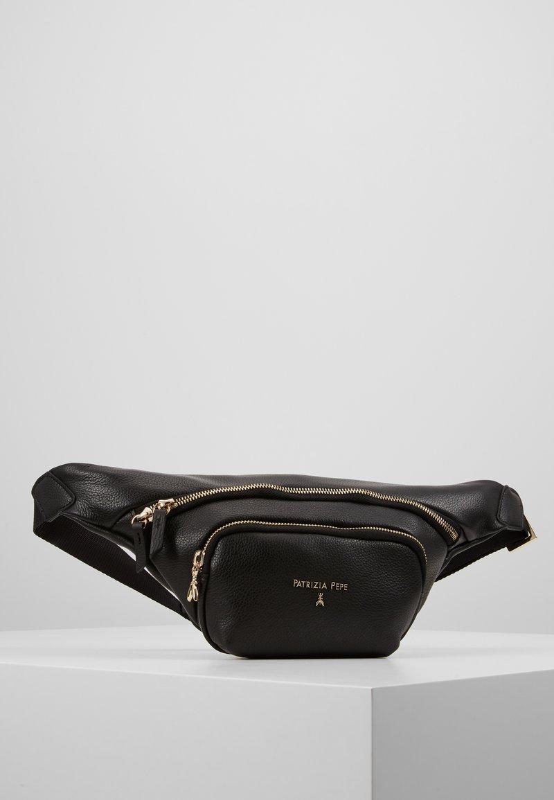 Patrizia Pepe - BELT BAG SPECIAL - Rumpetaske - nero/gold-coloured