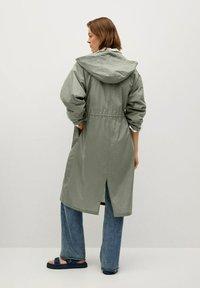 Mango - Waterproof jacket - kaki - 1