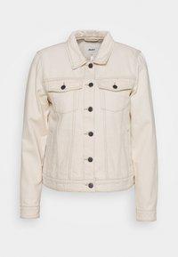 Object - OBJGLORIA JACKET  - Denim jacket - sandshell - 0