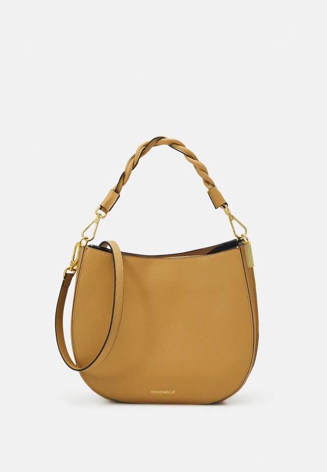 ARPEGE - Handtasche - warm beige/noir