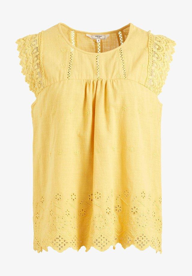 DELANEY - Camicetta - yellow
