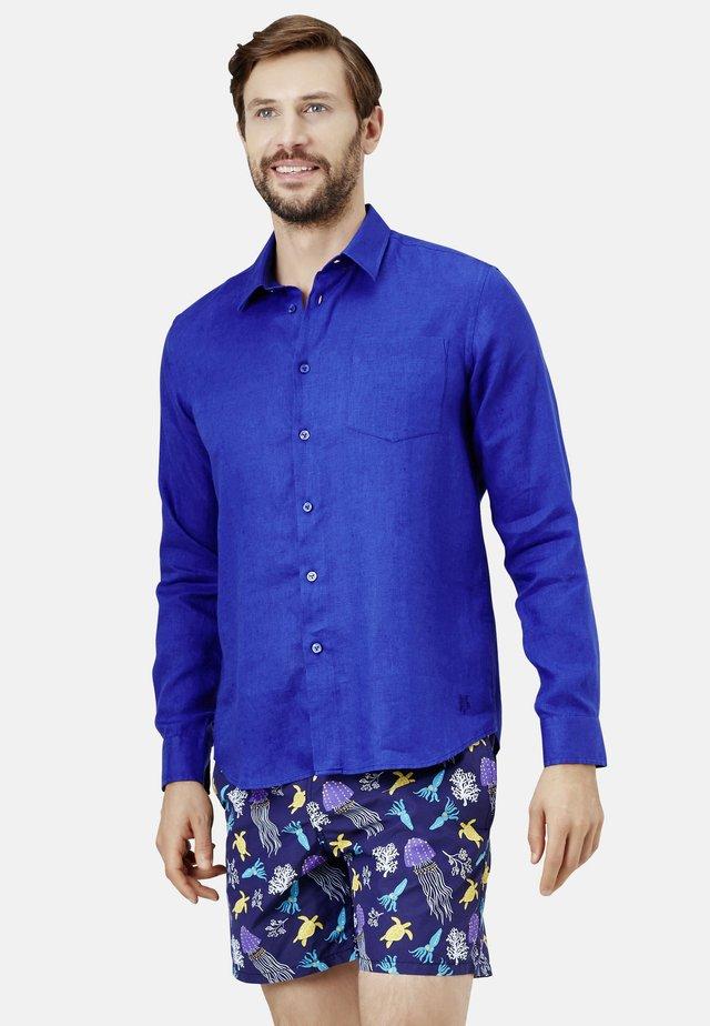 Overhemd - batik blue