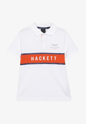 ASTON MARTIN RACING CHEST PANEL - Polo shirt - white