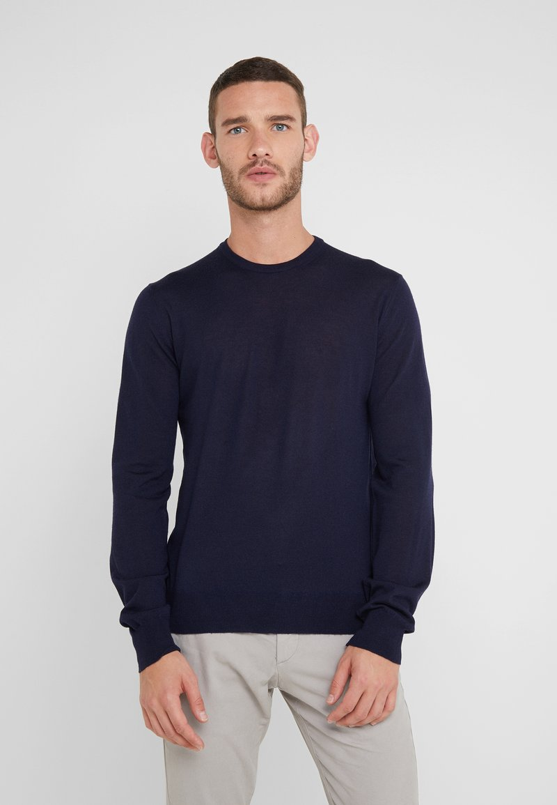 Hackett London - CREW - Strikpullover /Striktrøjer - midnight