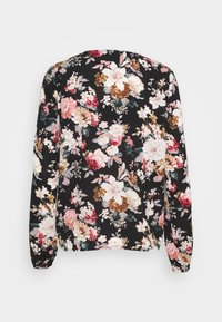 ONLY - ONLLARRY NECK TOP - Blouse - black - 1