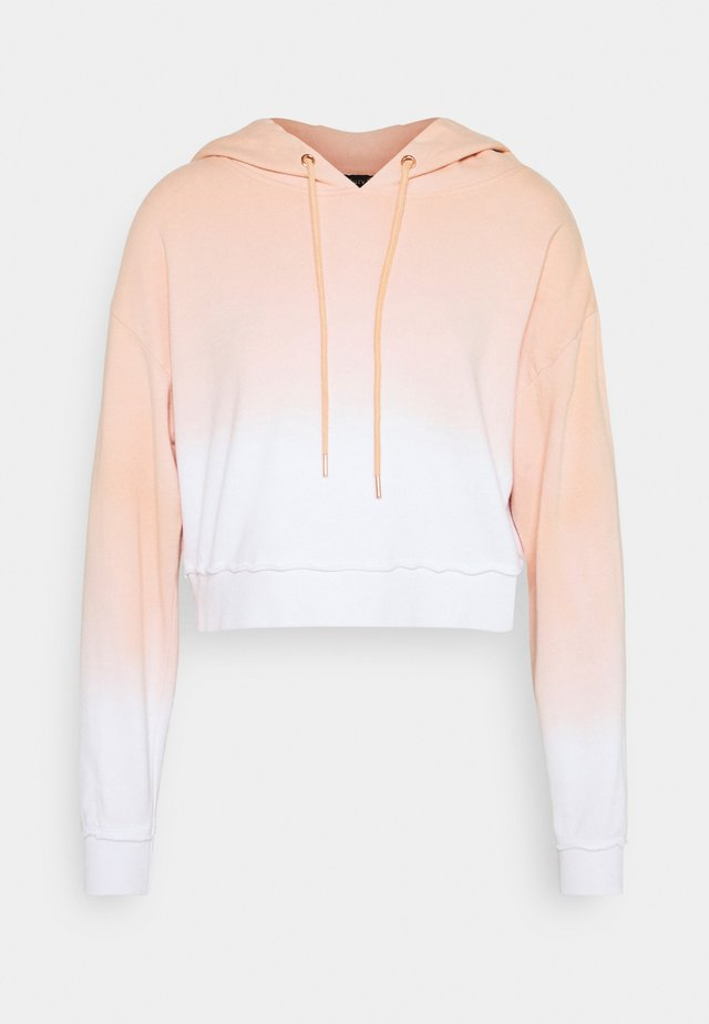 HIDDEN VALLEY HOODIE - Sweater - apricot