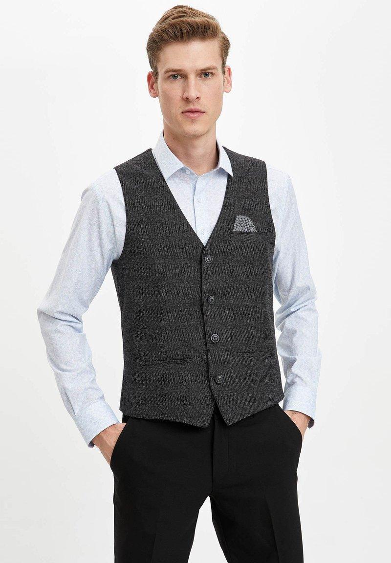 DeFacto - Suit waistcoat - anthracite
