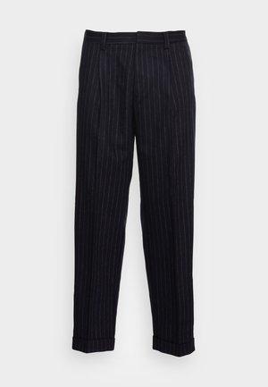 AAREN TROUSERS - Pantalon classique - navy