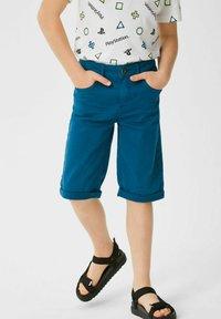 C&A - Denim shorts - blue - 0