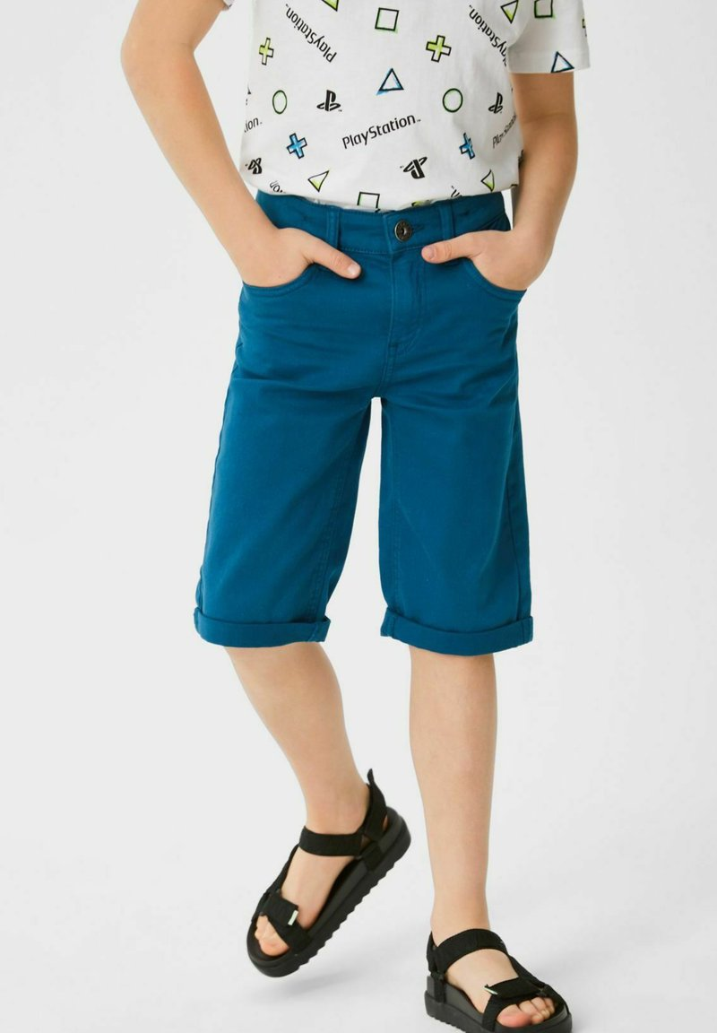C&A - Denim shorts - blue