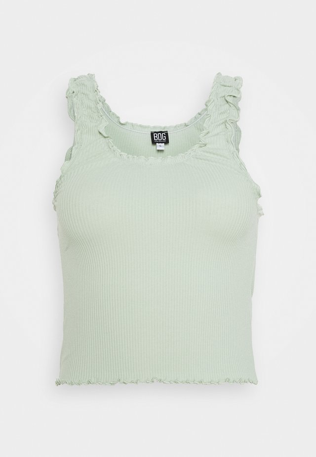 LETTUCE EDGE TANK - Top - sage