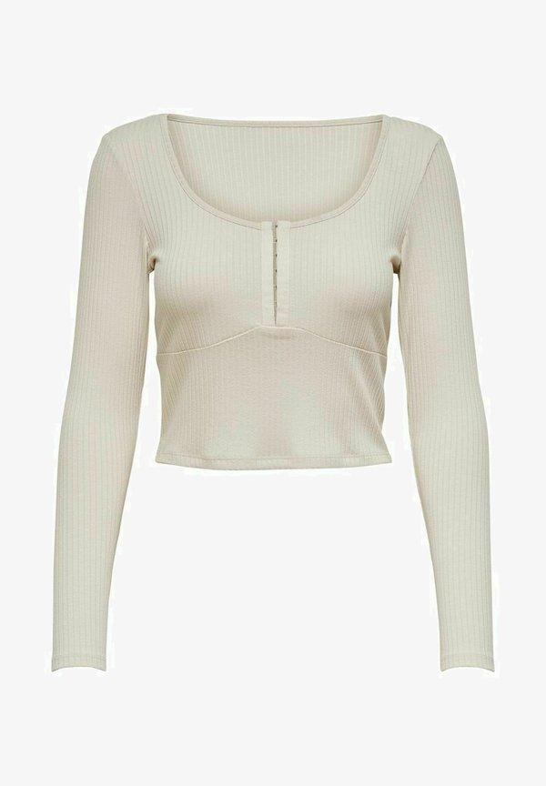 ONLY Bluzka - antique white/beżowy VBIU
