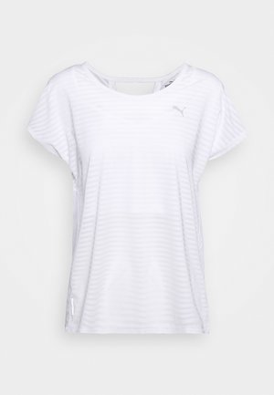 BE BOLD TEE - T-shirt z nadrukiem - white