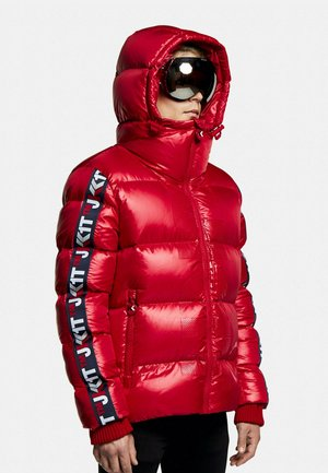 PRIME SLICK RACER - Down jacket - cherry red
