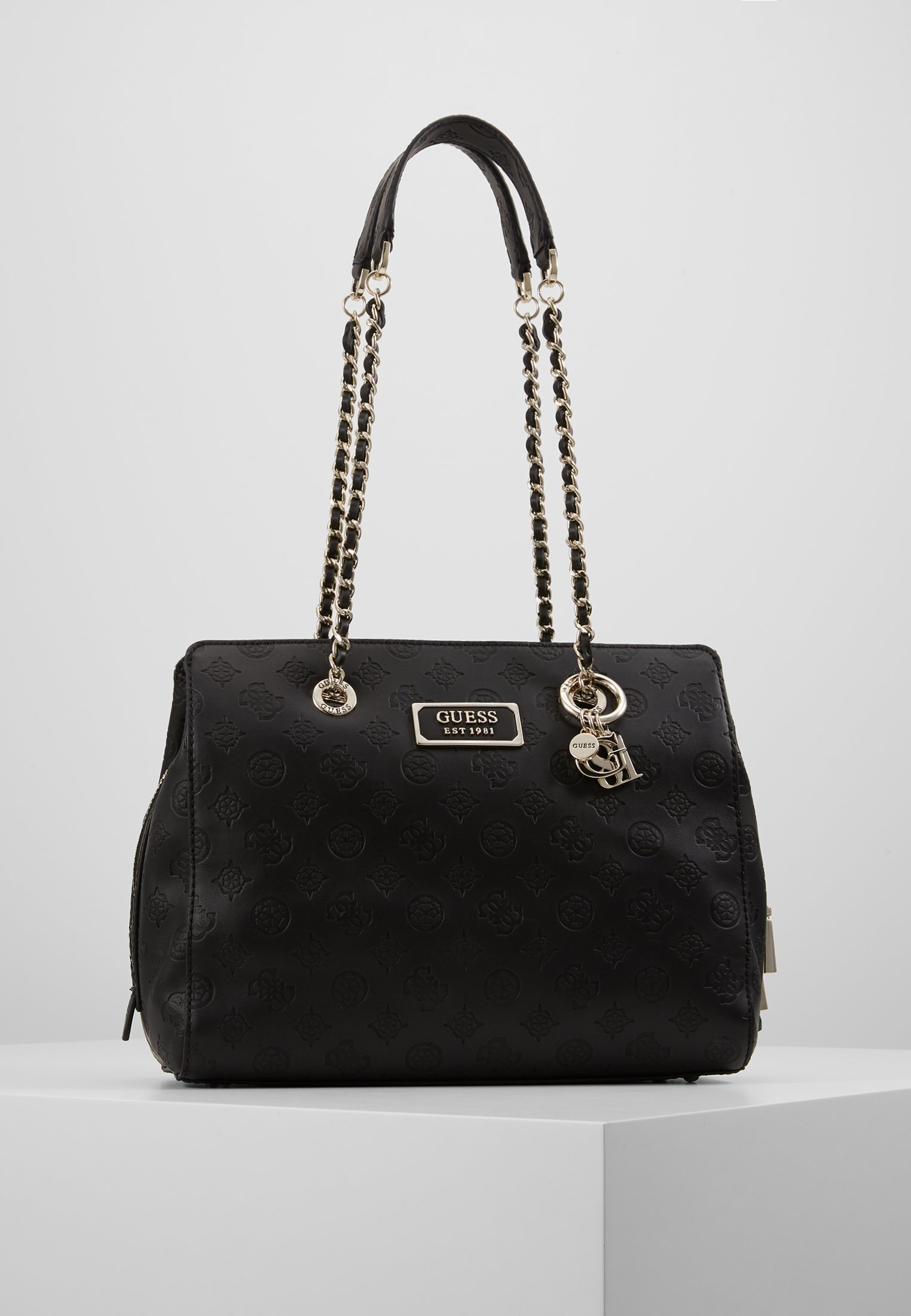 Guess GUESS CHIC GIRLFRIEND SATCHEL Håndveske black