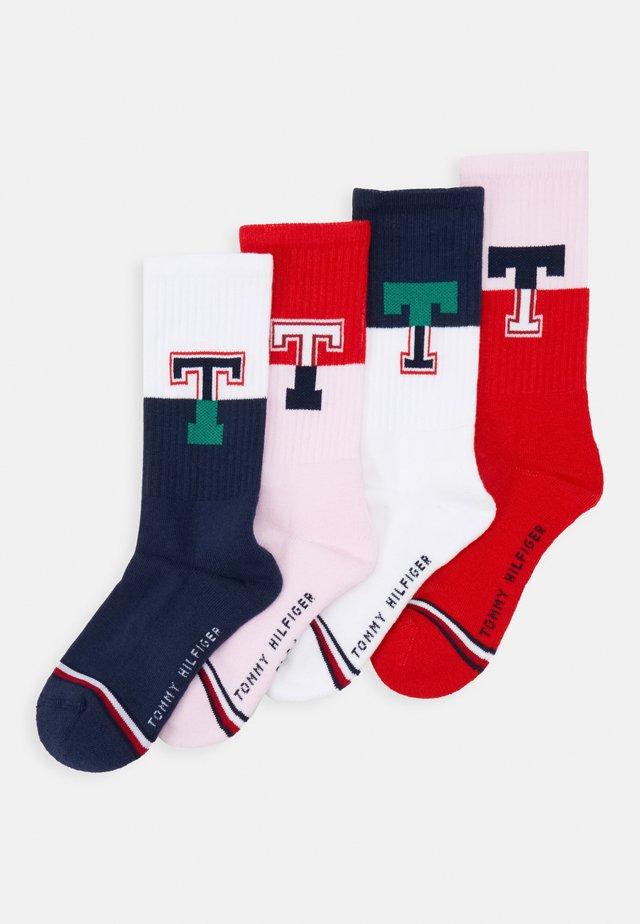 KIDS SOCK SPORT THPATCH 4 PACK - Ponožky - dark blue/pink