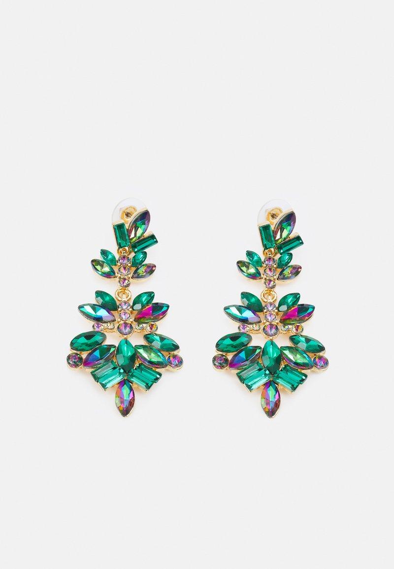 ALDO - BIRADER - Earrings - emerald combo