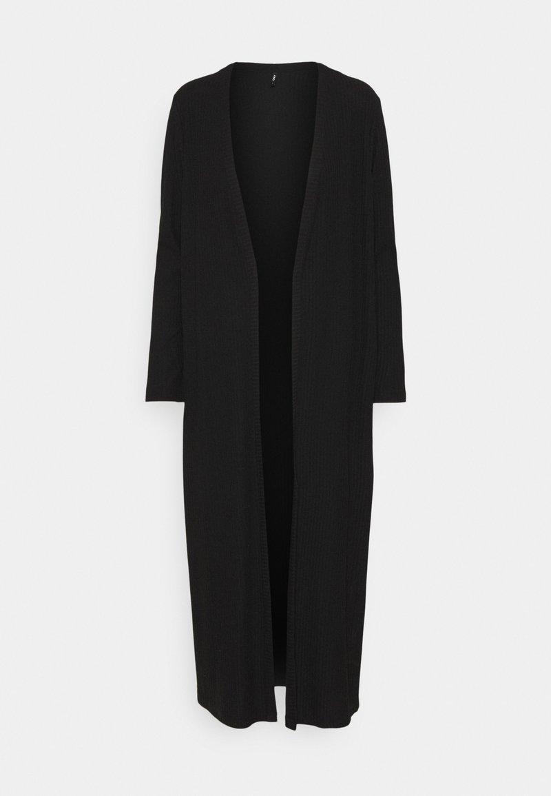 ONLY Tall - ONLNELLA LONG CARDIGAN - Cardigan - black