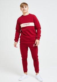 Illusive London Juniors - ILLUSIVE LONDON DIVERGENCE - Sweater - red & pink - 1