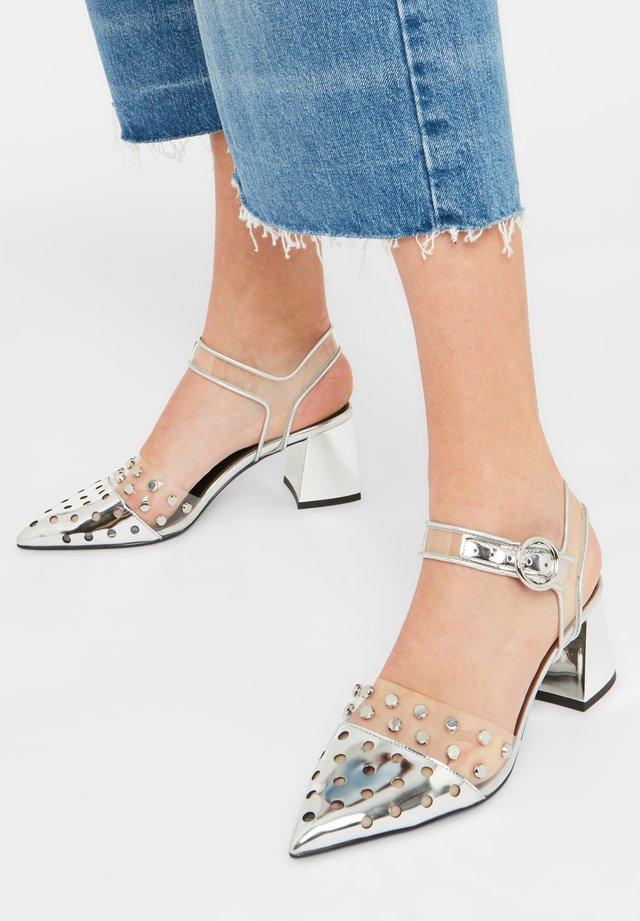 PAULINA - Sandals - silver