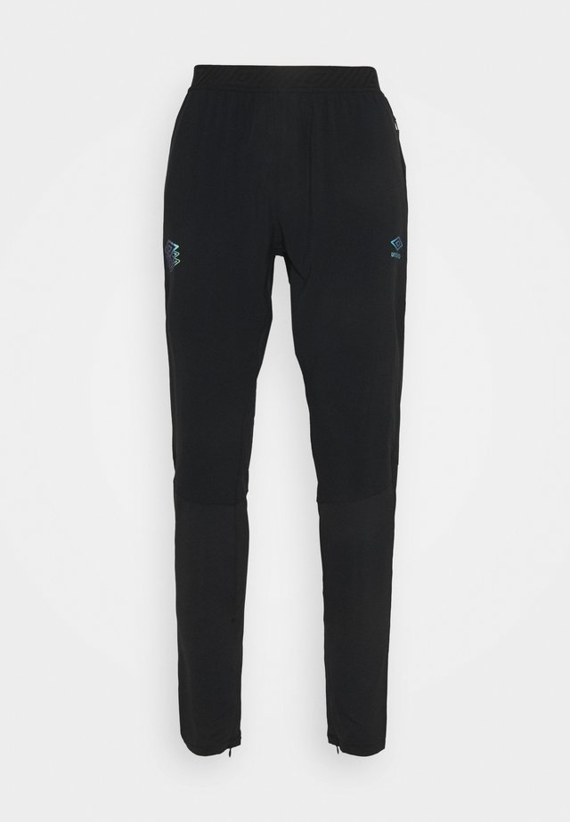 PRO TRAINING ELITE HYBRID PANT - Pantaloni sportivi - black/carbon