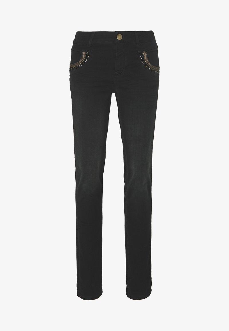 Mos Mosh - MERCURY  - Slim fit jeans - black