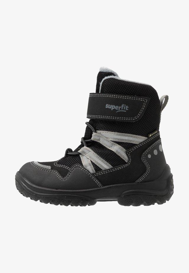 SNOWCAT - Zimní obuv - schwarz/grau