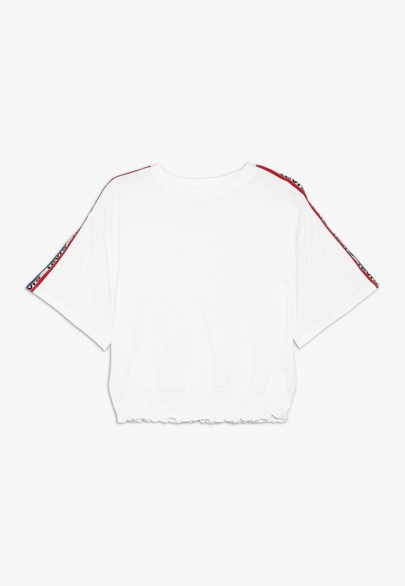 Levi's® - SMOCKED - T-shirt med print - white