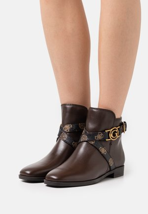 FLORIZA - Classic ankle boots - dark brown