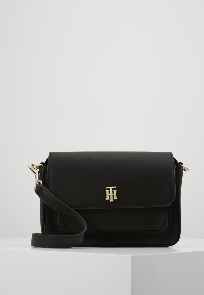 Tommy Hilfiger - CITY CROSSOVER - Olkalaukku - black