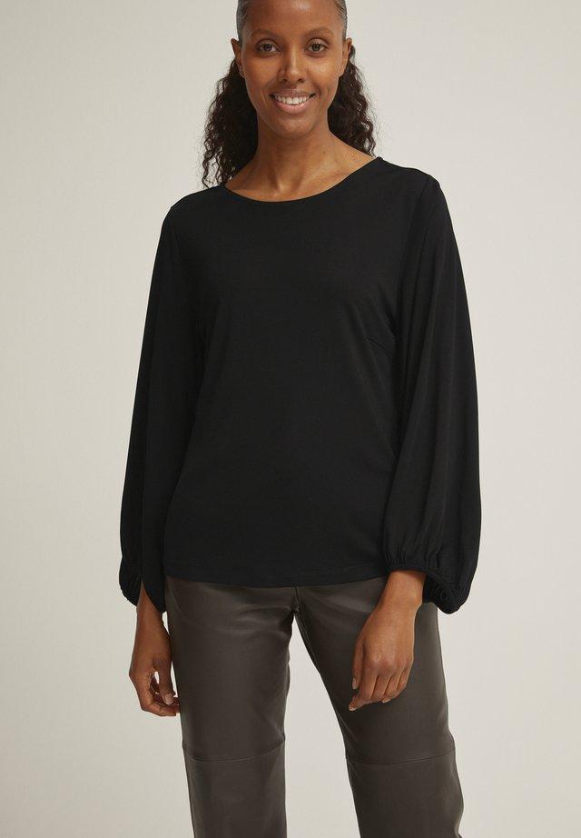 ELISA  - T-shirt à manches longues - black