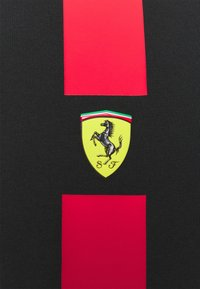 Puma - FERRARI RACE TEE - Print T-shirt - black - 2