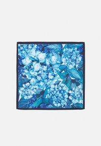 Burton Menswear London - GEO TIE FLORAL HANKIE SET - Solmio - blue - 3