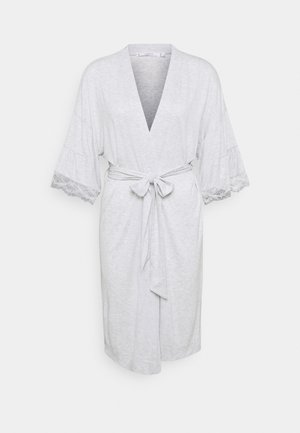 MEDIUM ROBE SOFT TOUCH  - Župan - grey print