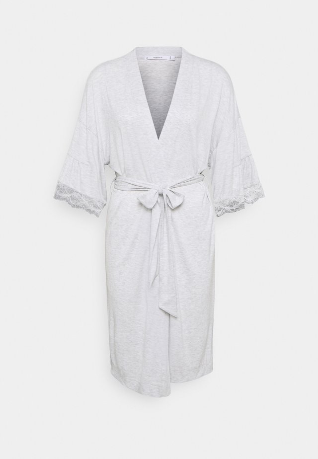MEDIUM ROBE SOFT TOUCH  - Accappatoio - grey print