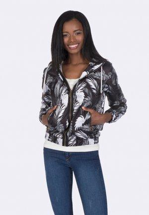 Light jacket - black-white
