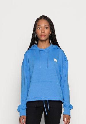 DRAWCORD HOODY - Hoodie - marina blue