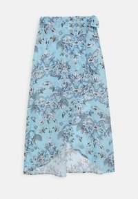JEWEL PRINT SARONG - Beach accessory - blue