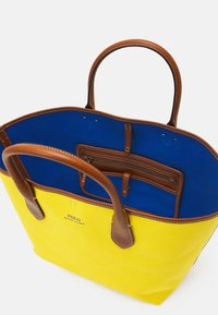 Polo Ralph Lauren - OPEN TOTE - Kabelka - yellow - 3
