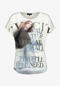 Monari - Print T-shirt - white - 0