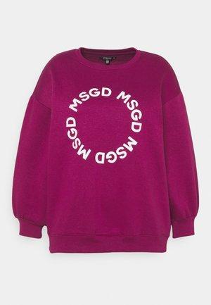 GRAPHIC - Sweatshirt - fuchsia
